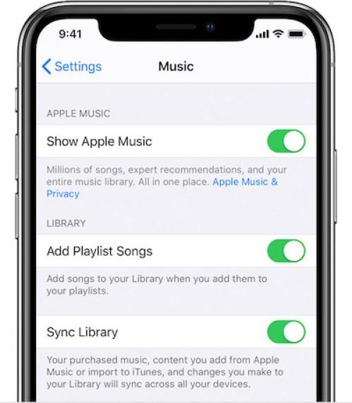 Telefonunuzda Apple Müzik Uygulamasını Etkinleştirme