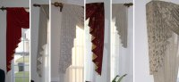 Custom Window Sconces I Swag Curtains I Cascades - Windows ...