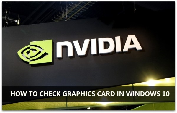 How to Check Graphics Card on Windows 10 | Graphics Card Windows | Graphics Card on Windows 10
