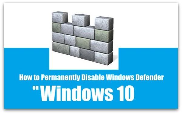 Disable Windows Defender | Disable Windows Defender in Windows PC | How to disable Windows Defender