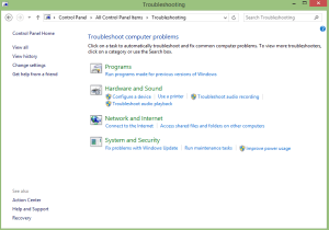 Windows update troubleshooter 0x800705b4 Error 1
