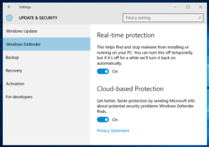 How to disable windows defender in windows 10 1