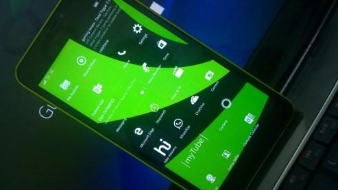 Lumia 640XL Buil 10586.71
