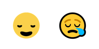 emoji compared