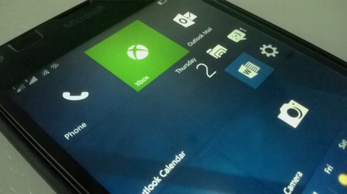 Windows 10 Mobile Build 10586.545