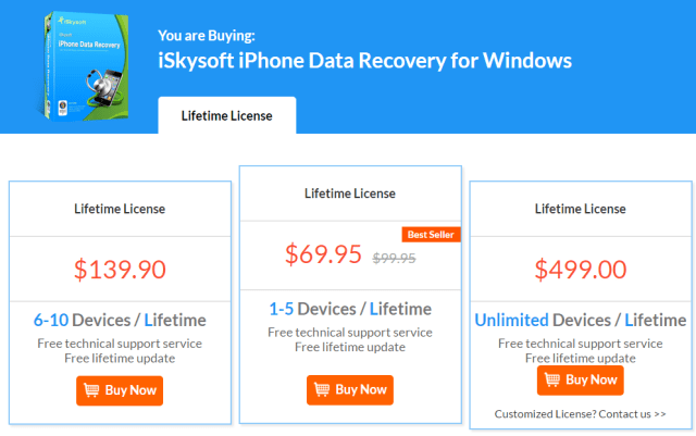 Review: iSkysoft iPhone Data Recovery Tool For Windows
