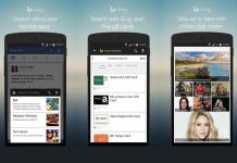 Bing Search for Android phones