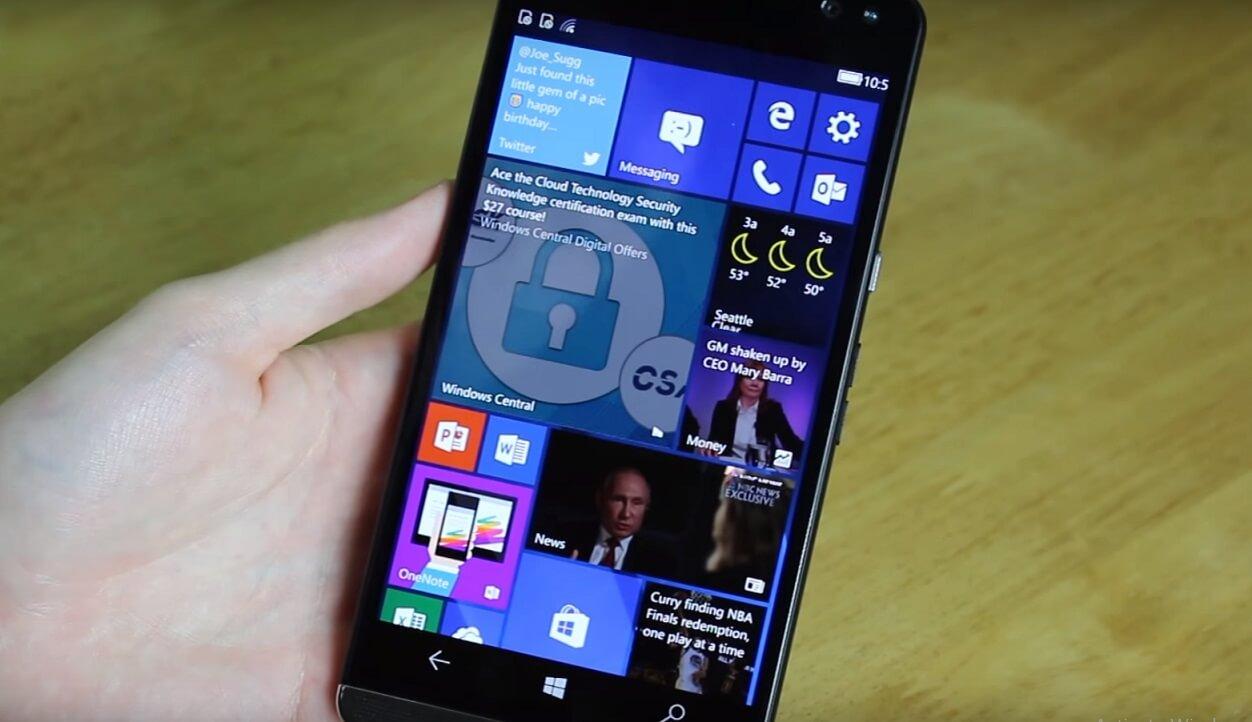 Lumia 640 windows 10 mobile experience on the web windows central - Lumia 640 Windows 10 Mobile Experience On The Web Windows Central 6