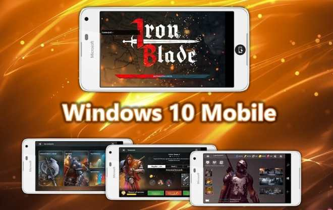 gameloft's iron blade action rpg game is now available for