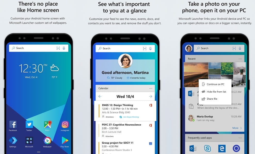 Microsoft Launcher for Android is now rolling out to all users