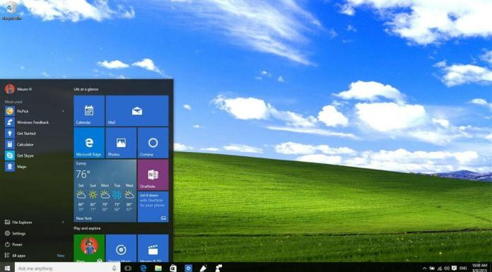 Windows 10 and XP