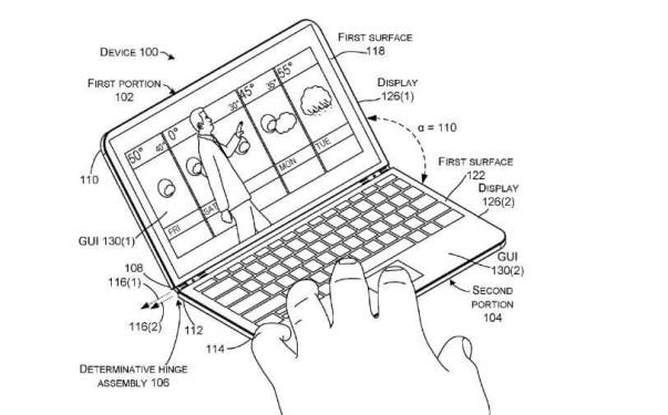 Surface Phone foldable design