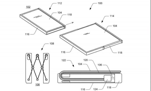 Microsoft patent for mobile devices