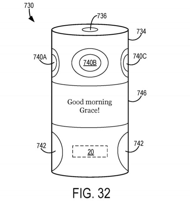 Microsoft's latest patent shows off smart-speaker and