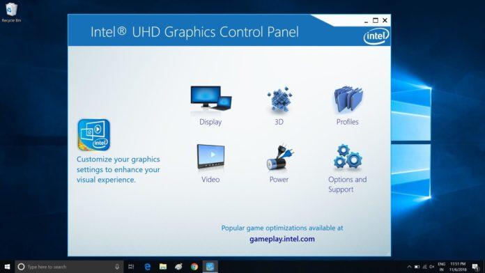 Windows 10用のIntelアップデート