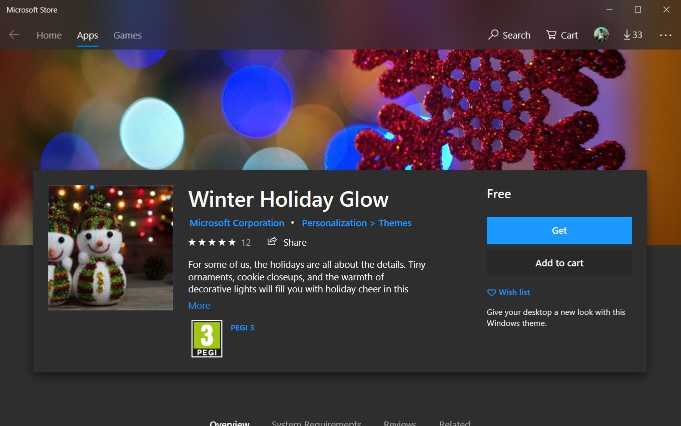 Microsoft Releases New Winter Holiday Glow Wallpapers For