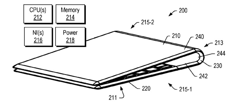 Patent hints at Lenovo's foldable Windows 10 devices with