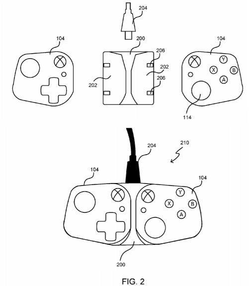 入力コントローラ特許