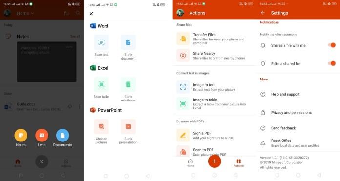 Aplicación Microsoft Office