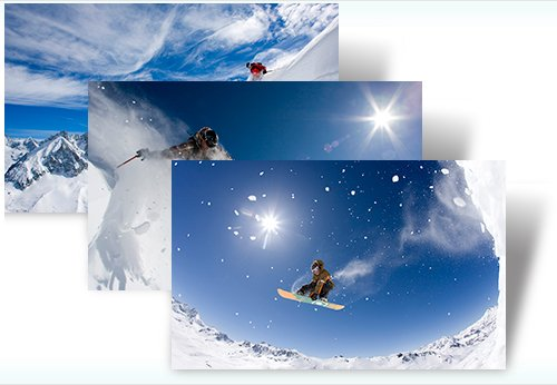 Windows 7 Snow Sports Theme