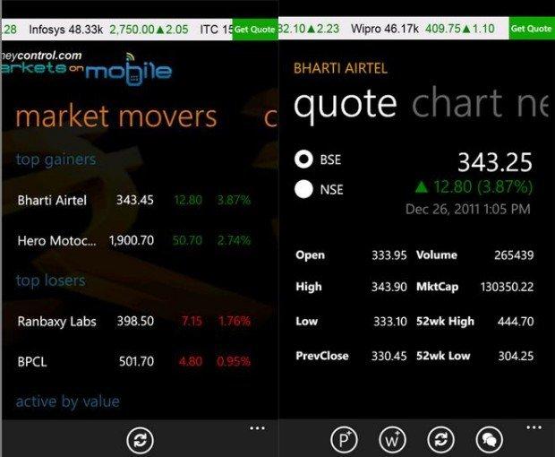 Money Control App