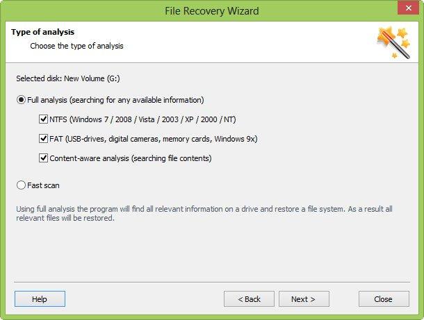 Recovery methods