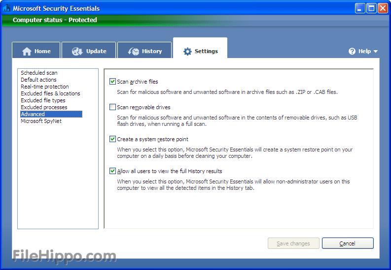 Microsoft Security Essentials What