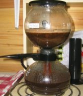Vacuum coffee machines