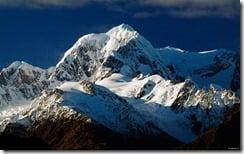 Mount Tasman, Southern Alps, South Island, New Zealand