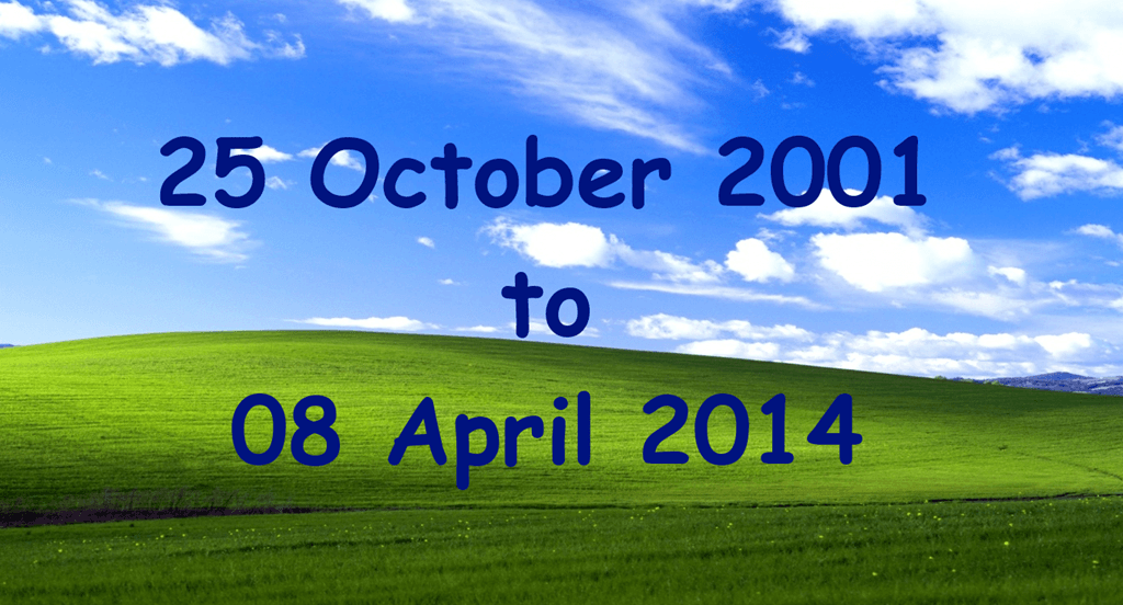 Official Windows XP Support Ends Today - WindowsObserver com