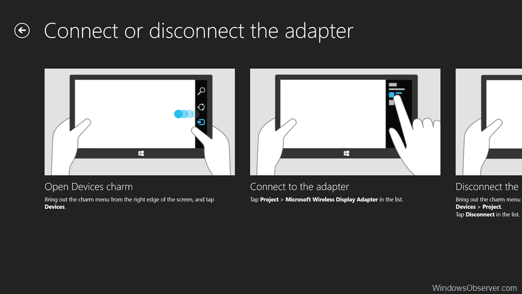 Microsoft display adapter app wireless display adapter computer.