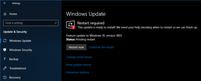 Windows 10 Redstone 4 Build 17133 Heads to Slow Ring for