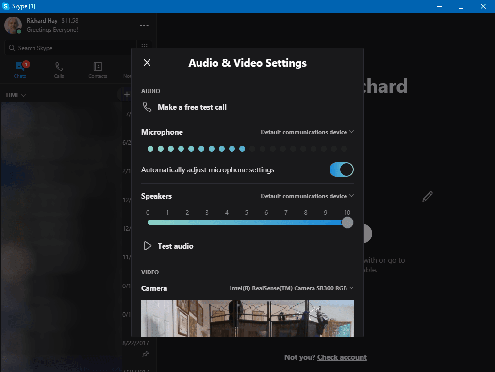 Microsoft Releases Skype Version 8 for Windows 10
