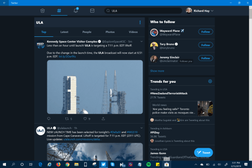 Official Windows 10 Twitter PWA App Receives UI Update