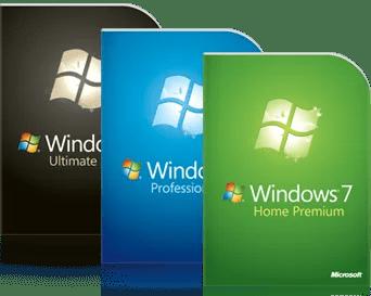 Windows-7 Verpackung