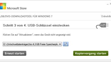 Photo of Windows 8 Installation vom USB-Stick