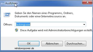 Kurztipp: Taskmanager zurücksetzen unter Windows 7 0