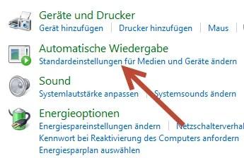 Automatische Wiedergabe unter Windows 7 deaktivieren 2