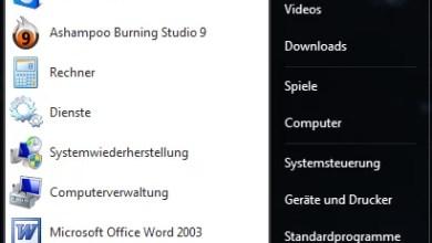 Standardprogramm rausfinden Windows 7 0