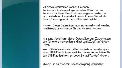 Photo of Kennwortrücksetzdiskette für vergessene Passwörter erstellen unter Windows 7