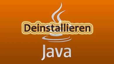 Photo of So deinstallieren Sie Java