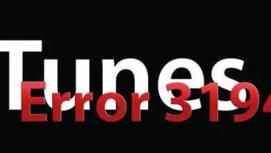 Photo of Error 3194 iTunes update iPhone/iPad/iPod