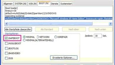 Wie starte ich Windows im abgesicherten Modus? 0