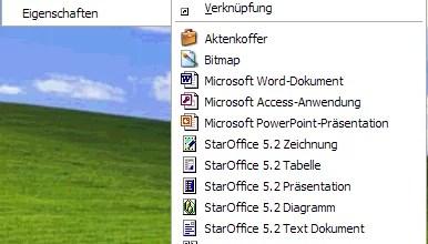 Unbrauchbare Dateitypen aus 0