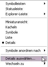 Details Ansicht bei Windows Explorer und Ordner erweitern 0