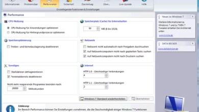 Kostenloses Tweaking-Tool für Windows 7 von Data Becker 0