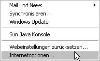 Animierte GIFs werden als normale GIFs angezeigt bei Internet Explorer 6 0
