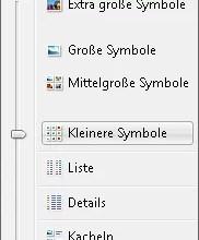Photo of Unterschiedliche Anzeigeformen von Dateien unter Vista