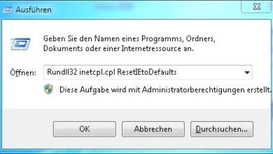 Photo of Internet Explorer Einstellungen Zurücksetzen