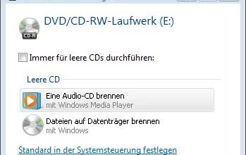 Photo of MP3 Dateien Brennen mit Windows Vista